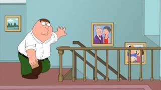 Гриффины Питер падает с лестницы Not Vine