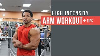 THE BEST HIGH INTENSITY ARM WORKOUT
