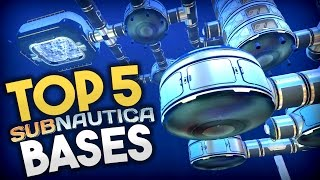 Subnautica - TOP 5 SUBNAUTICA BASES!! Best Base Creations - Subnautica Early Access Gameplay