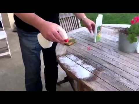 Nettoyer une table en bois exotique  YouTube