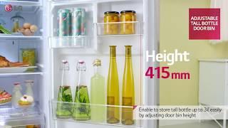 LG 2014 Refrigerator Top Freezer with easy storage system