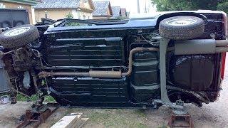 Опрокидыватель автомобиля