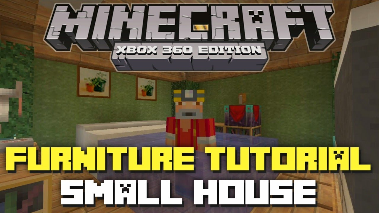 Minecraft Xbox 360 Furniture Inspiration And Ideas! Part
