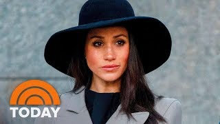 Palace Responds To Reports That Meghan Markle's Father Won't Be Attending The Royal Wedding   TODAY