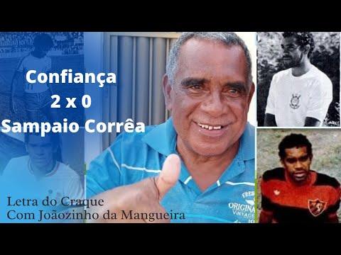 Confiança 2 x 0 Sampaio Corrêa - Que noite azul!   Letra do craque com Joãozinho da Mangueira