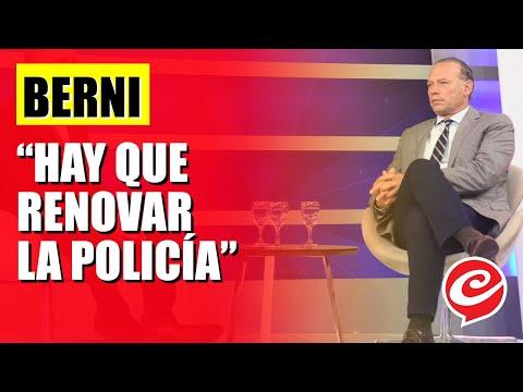 """Sergio Berni: """"Hay que renovar la policía"""""""