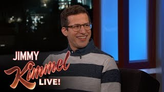 Andy Samberg Reveals Why White Guys Shouldn't Have Dreadlocks