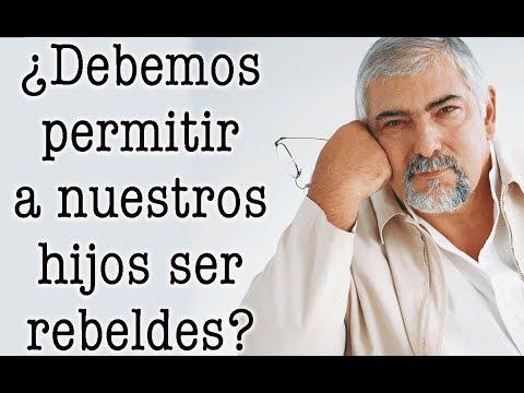 Jorge Bucay  ¿ Debemos permitir a nuestros HIJOS SER REBELDES ?