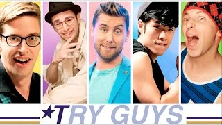The Try Guys 90s Boyband Music Challenge