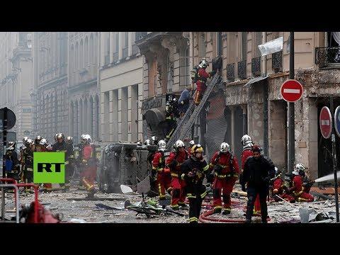 Se registra una explosión en una panadería del centro de París