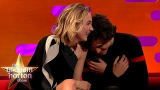 Timothée Chalamet Can't Handle Saoirse Ronan's Shrek Impression | The Graham Norton Show