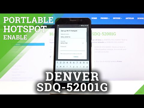 How to Use Portable Hotspot on DENVER SDQ-52001G – Network Sharing