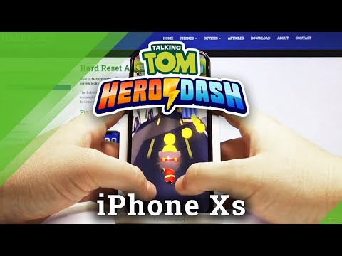 How Talking Tom Hero Dash works on iPhone XS -  Save Tom's Friends on iOS