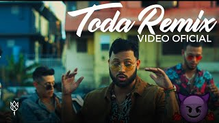Alex Rose - Toda (Remix) Ft. Cazzu, Lenny Tavarez, Lyanno & Rauw Alejandro ( Oficial)