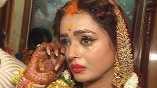 Yeh Rishta Kya Kehlata Hai Swarna AKA Parul Chauhan Bidaai Ceremony