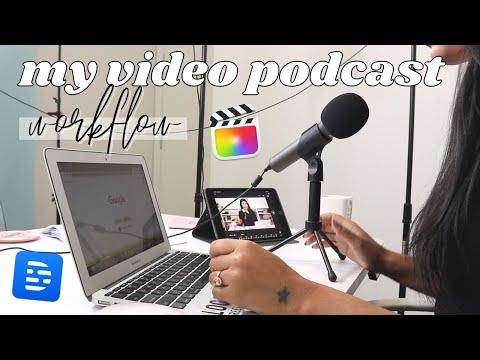 How I Produce My Video Podcast