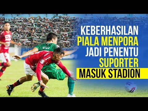 Pemerintah Buka Peluang Penonton Liga 1 Boleh Hadir di Stadion