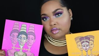 Juvia's Place Nubian 2 & Masquerade Palette Swatches & Review   KelseeBrianaJai
