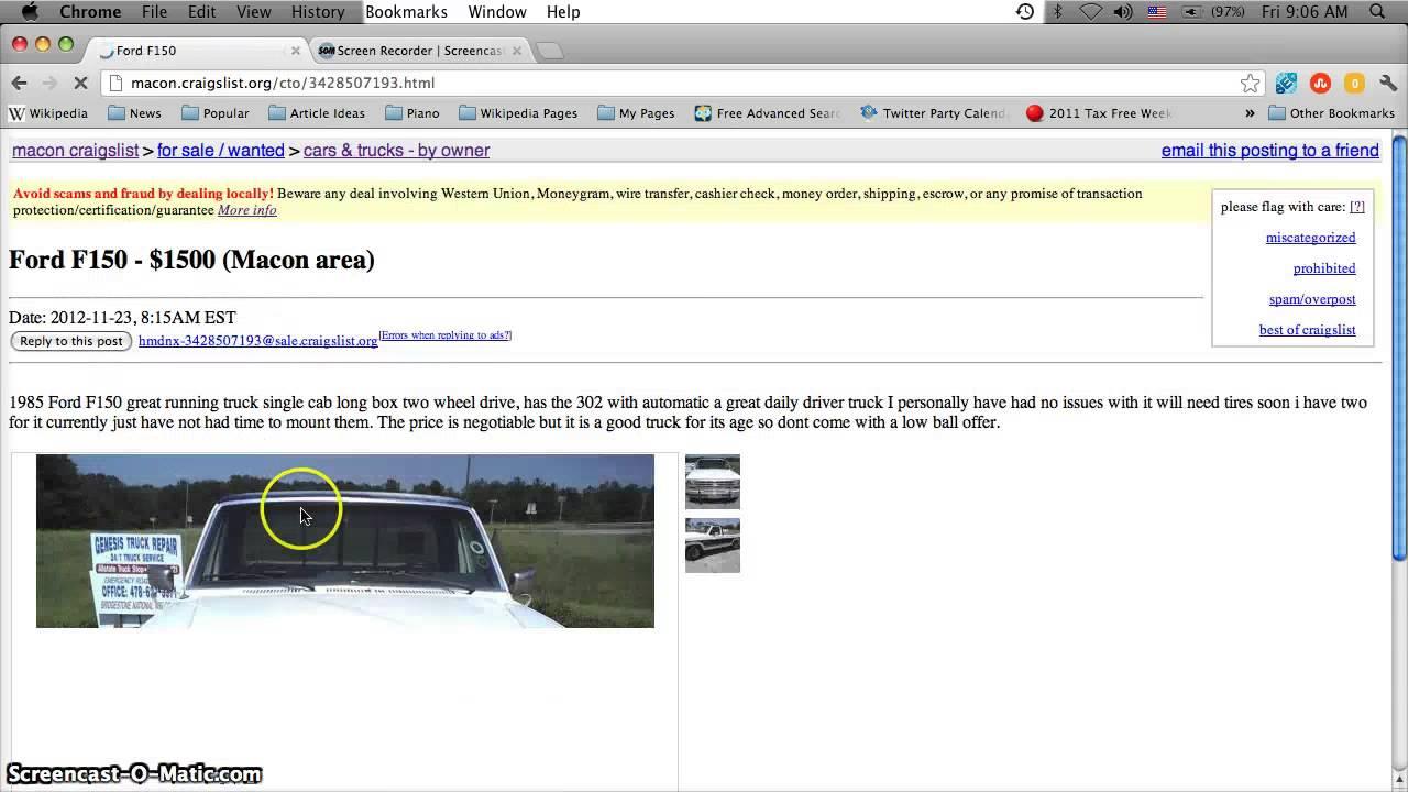 Craigslist Augusta Ga Autos Post