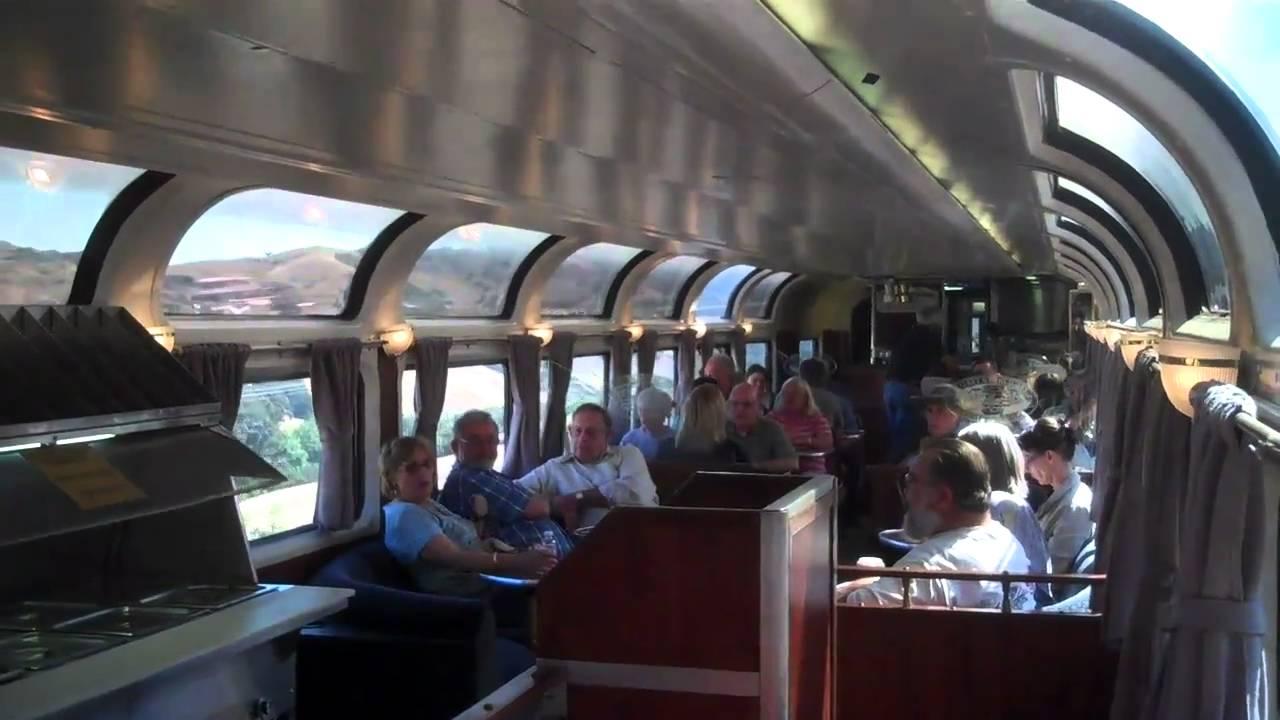 Amtrak Train Interior