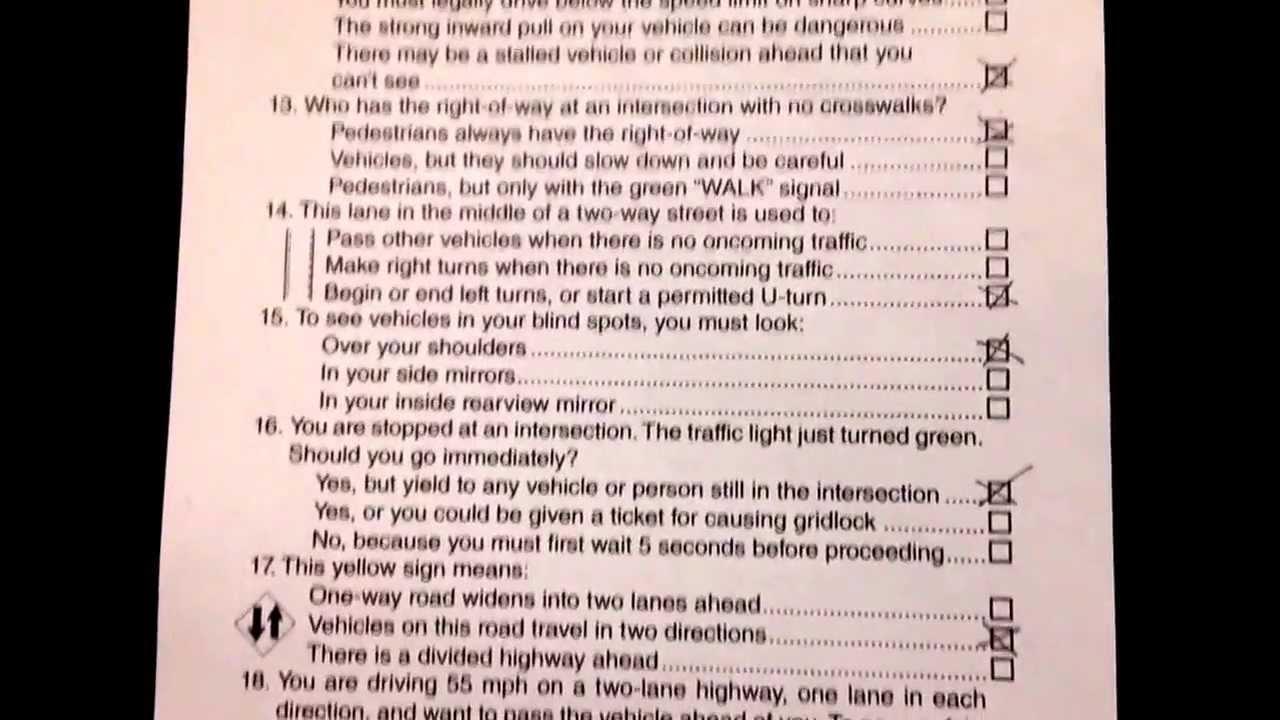 Cdl Driver License Exam