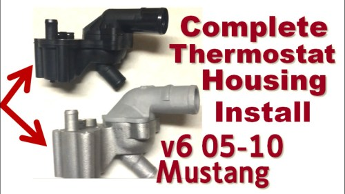 small resolution of 2005 mustang 4 6 thermostat diagram