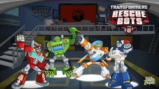 Transformers Rescue Bots: Hero Adventures #214   4 RESCUE BOTS Mission! By Budge
