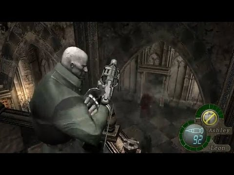 Leon S Kennedy Hd Wallpaper Resident Evil 4 Pc Ashley S Revenge Youtube