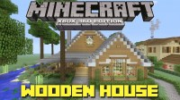 Minecraft Xbox 360: Cool Wooden House + Lake Cottage ...