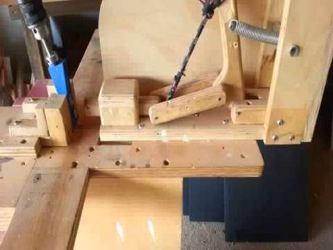 WoodworkingHomemade Kreg Jig Pocket Hole Jig 2  YouTube