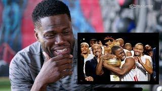 Kevin Hart React to His Cringy Basketball