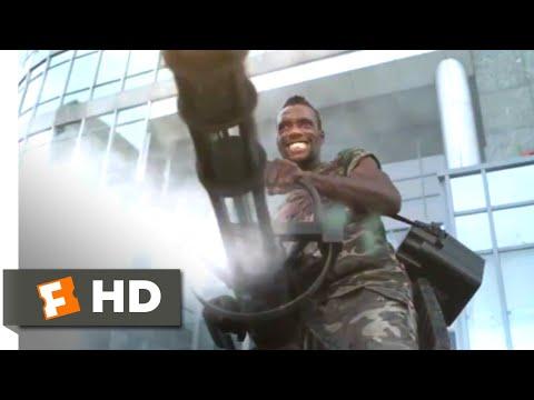 Kill Zombie! (2013) - Minigun Assault Scene (7/10) | Movieclips