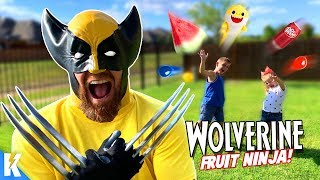 Wolverine Claws in Real Life! Marvel Super Hero Gear Test & SKIT | KIDCITY