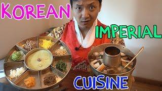 9 Course TRADITIONAL Korean ROYAL Cuisine (What Korean Emperors Ate)