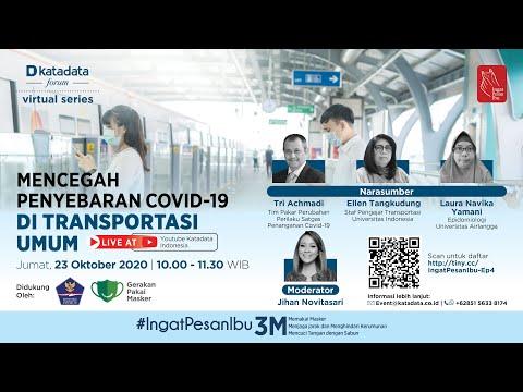 Mencegah Penyebaran Covid-19 di Transportasi Umum | Katadata Indonesia