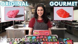 Pastry Chef Attempts to Make Gourmet Pop Rocks   Gourmet Makes   Bon Appétit