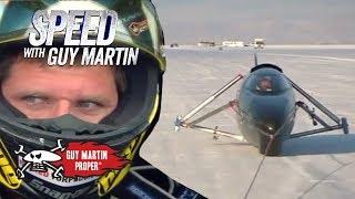 Guy's first run in the world's fastest bike | Guy Martin Proper
