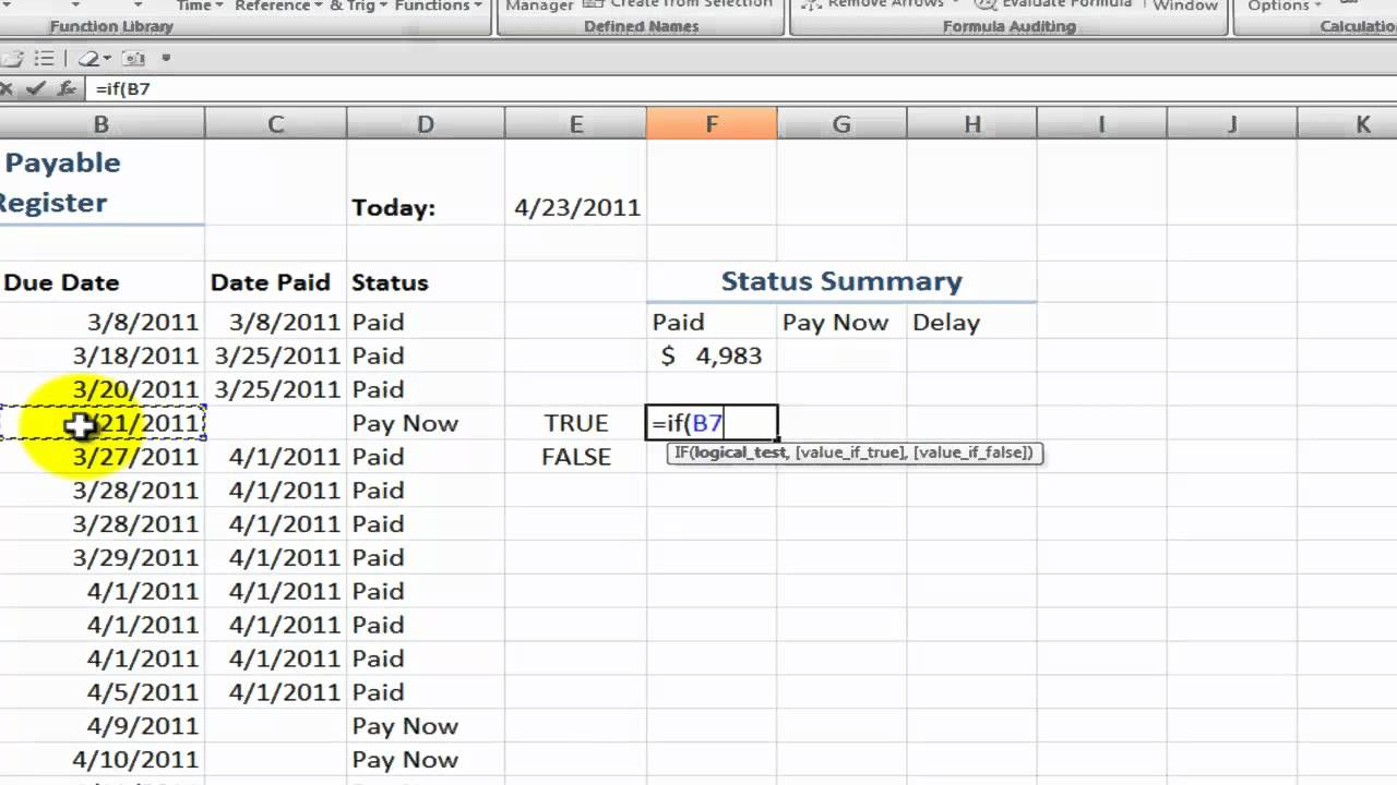 excel accounts payable template