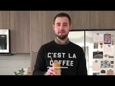 Starbucks at Home: How to make dalgona coffee