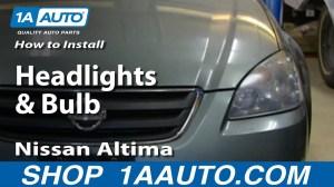 2005 Nissan Altima Headlight Wiring Diagram  Wiring Diagram Pictures