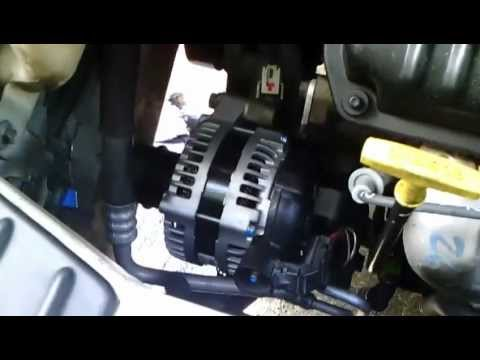 Wiring Diagram For 2004 Mitsubishi Galant 2002 Chrysler T Amp C Idler Tensioner Alternator Rpl Youtube