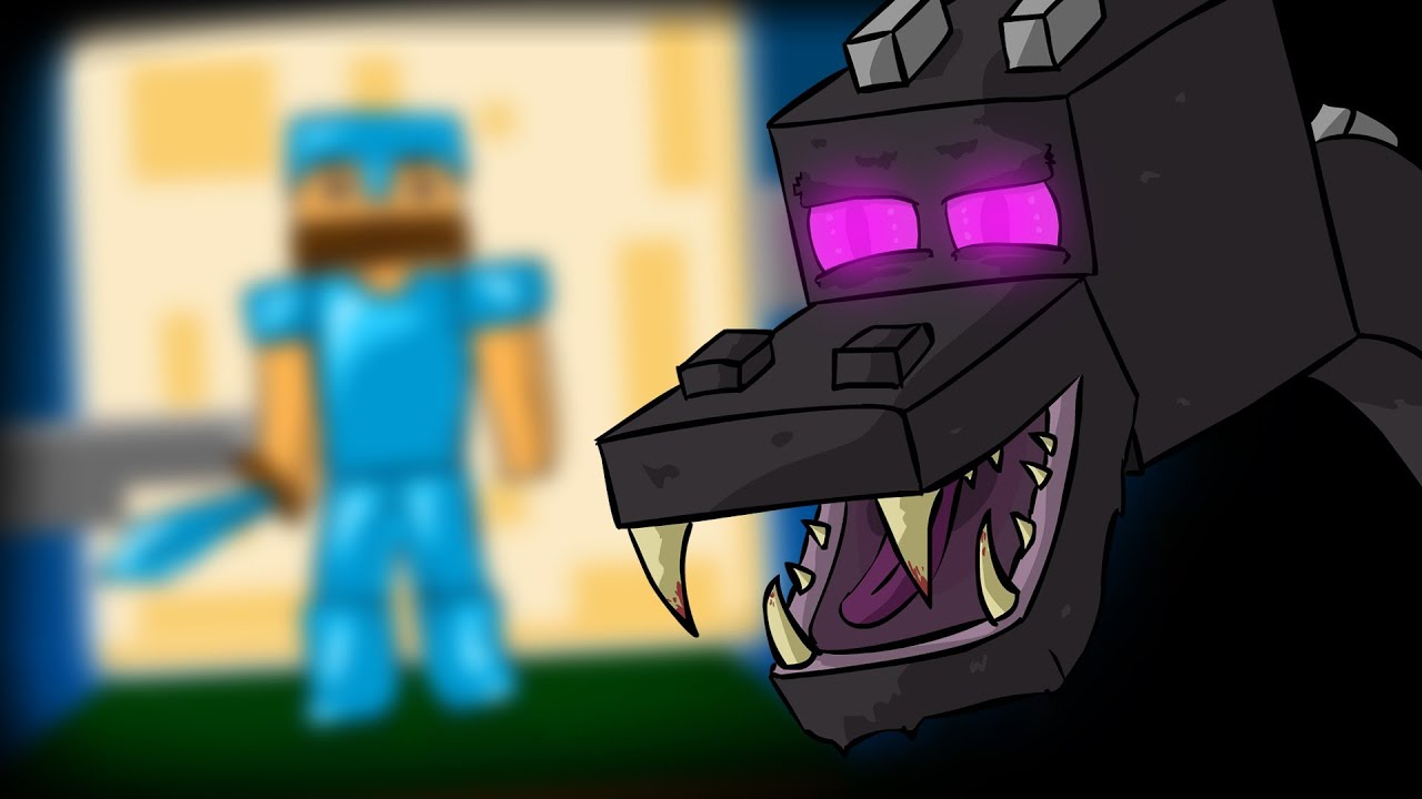 Minecraft Animation Wallpaper Minecraft Mob Stories The Ender Dragon Youtube
