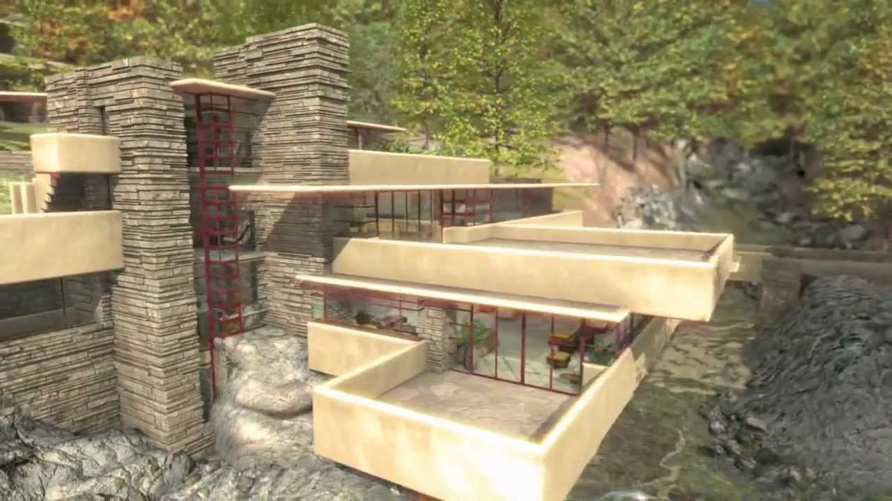 Frank Lloyd Wright  Fallingwater La casa sulla Cascata