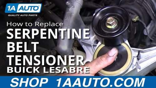 small resolution of service manual installing new serpintine belt on a buick park avenue belt diagram serpentine belt routing