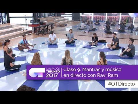 Clase 9: Clase de yoga con mantras y música en vivo de Ravi Ram (Operación Triunfo 2017)