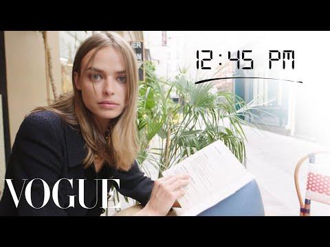 How Top Model Birgit Kos Gets Runway Ready | Diary of a Model | Vogue