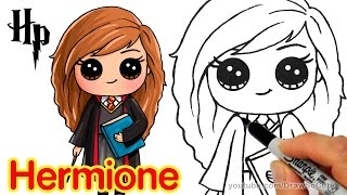 How To Draw Hermione Easy Harry Potter Free Download