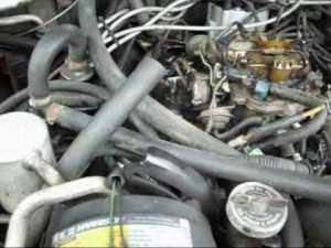 1986 Cutlass Supreme changing Carb  YouTube