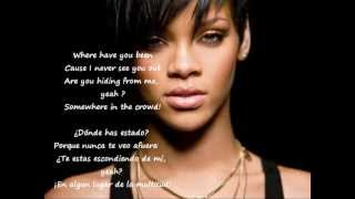 Rihanna ″where have you been″ (ingles- español, Aprende cantando)