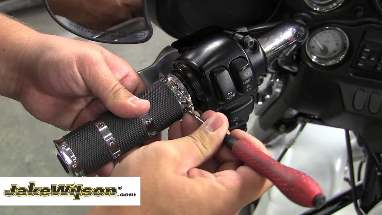 Classic Car Wiring Harness Diagram How To Replace A Set Of Grips On A Harley Davidson Street